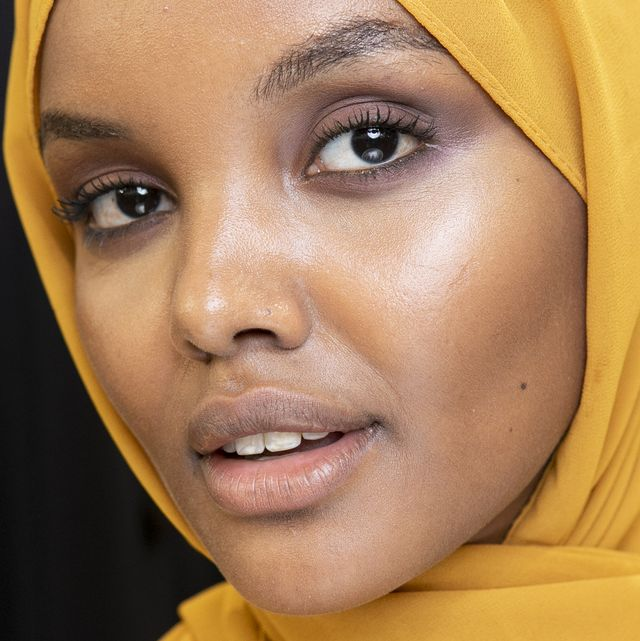 milan, italy   september 20  model halima aden is seen backstage ahead of the max mara show during milan fashion week springsummer 2019 on september 20, 2018 in milan, italy  photo by rosdiana ciaravologetty images