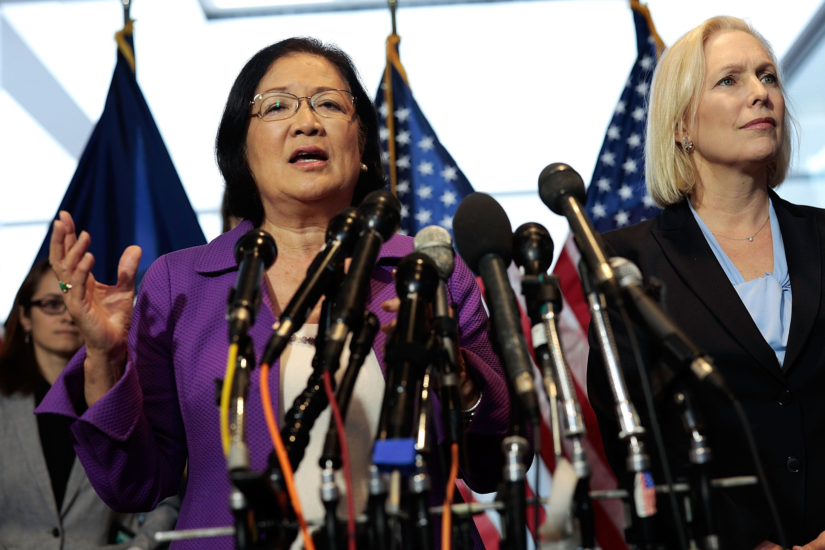 Sens Hirono And Gillibrand Accept Letter Supporting Christine Blasey Ford