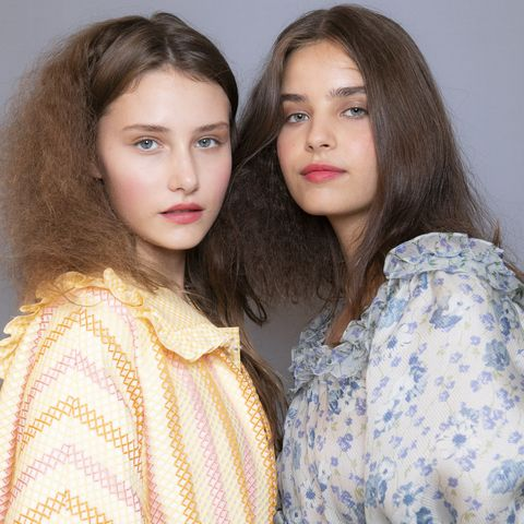 Luisa Beccaria - Backstage - Milan Fashion Week Spring/Summer 2019