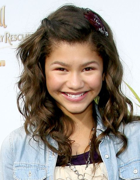 "beverly hills, ca   august 28  actress zendaya coleman arrives at the screening of disney's ""tinker bell and the great fairy rescue""  on august 28, 2010 in beverly hills, california  photo by valerie macongetty images"