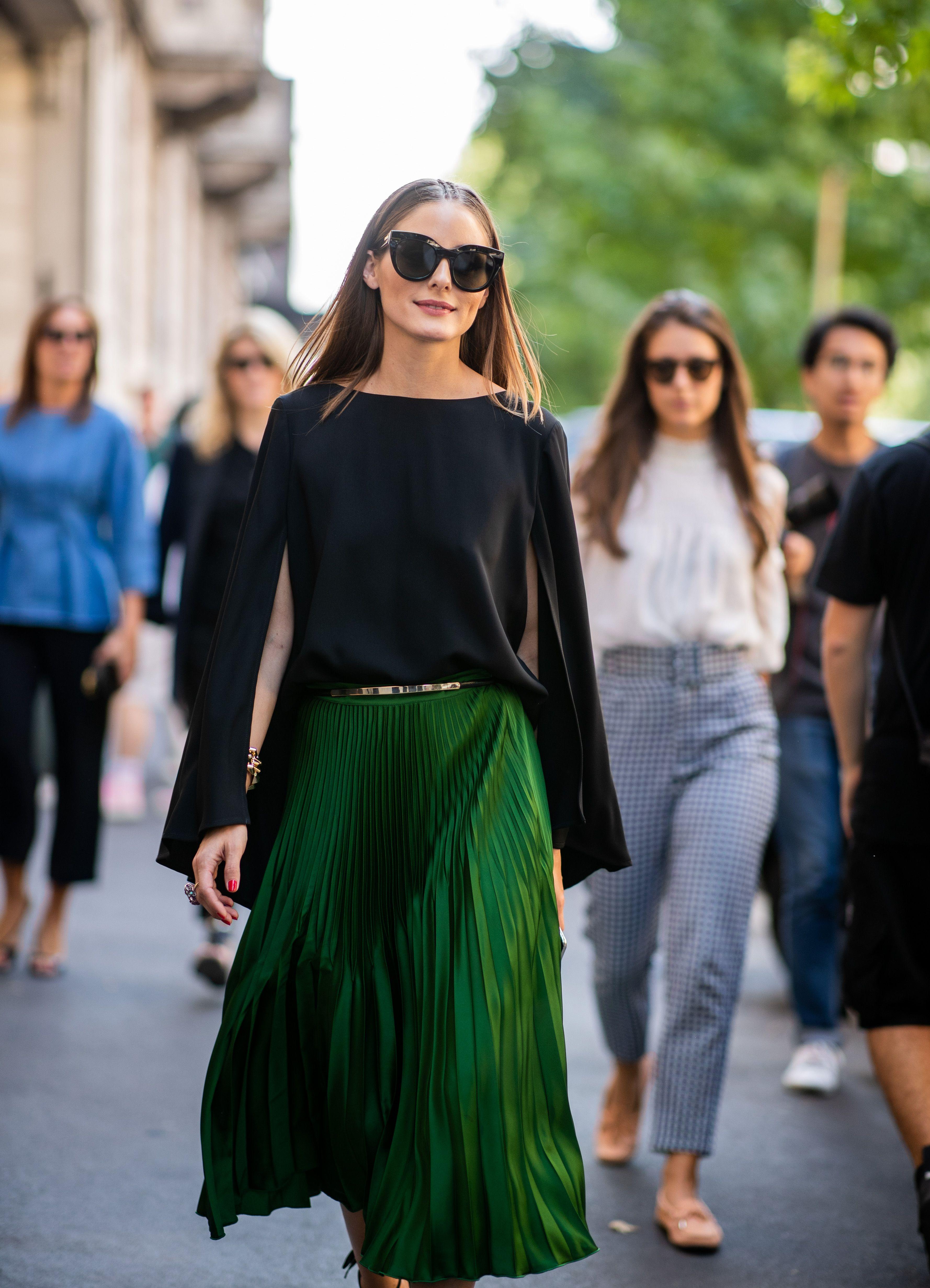 Olivia Palermo tiene la falda perfecta y nosotros la hemos