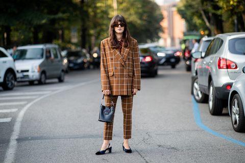 Street fashion, Photograph, Clothing, Fashion, Plaid, Footwear, Snapshot, Beauty, Tartan, Jeans,
