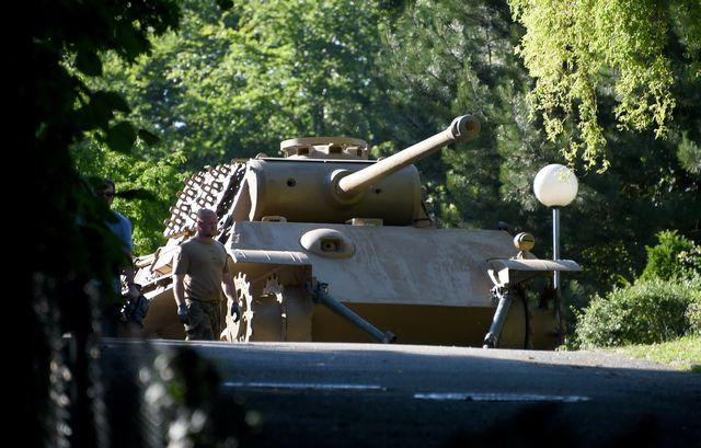 A Guy Hid a Real WWII Panther Tank in His Basement. Now, There Are Consequences.