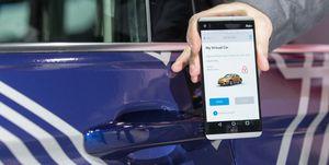 Digital Key Car