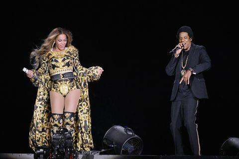 159d6dfdff82 Beyoncé Just Debuted An Epic Disco Ball Jumpsuit On Stage
