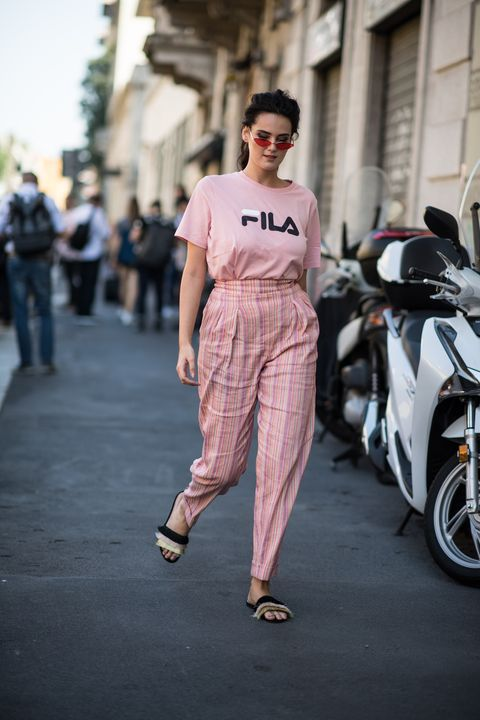 White, Fashion, Clothing, Street fashion, Fashion model, Eyewear, Pink, Beauty, Snapshot, Sunglasses,