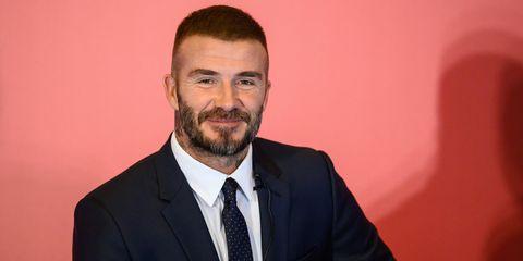 David Beckham Shows Off Newly Dyed Buzz Cut One Week After Victoria