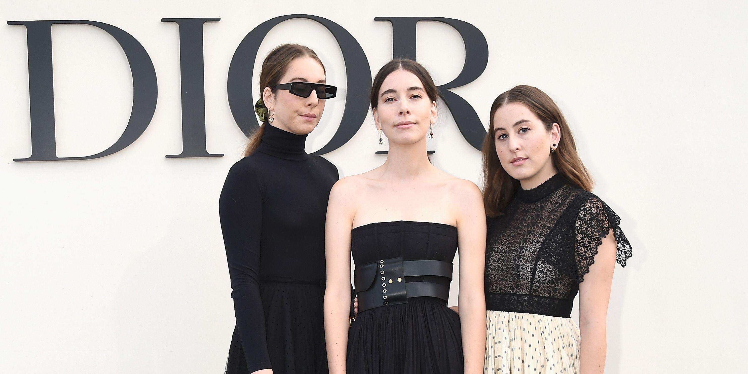 Haim at SS19 Dior show