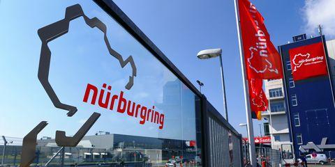 nürburgring durante su último gp de f1 en 2013