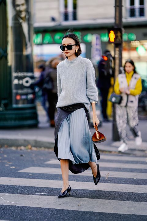 White, Photograph, Street fashion, Clothing, Fashion, Street, Snapshot, Yellow, Road, Pedestrian,