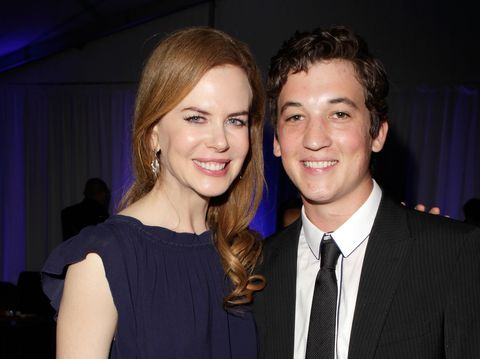 """Miles Teller says working with Nicole Kidman was """"horrible"""""""