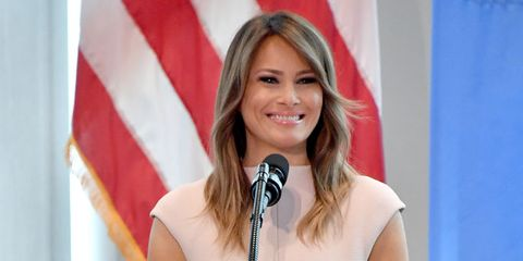 68d37047fb85f Melania Trump Wore a Hat With Ties to Colonialism During Africa Trip