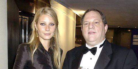 Gwyneth Paltrow and Harvey Weinstein
