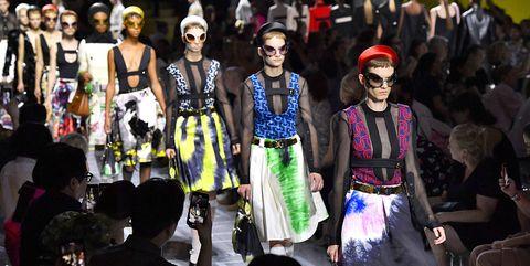 People, Fashion, Event, Runway, Performance, Fashion design, Crowd, Fashion show, Costume, Games,