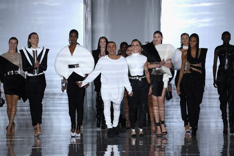 Balmain : Runway - Paris Fashion Week Womenswear Spring/Summer11 2019