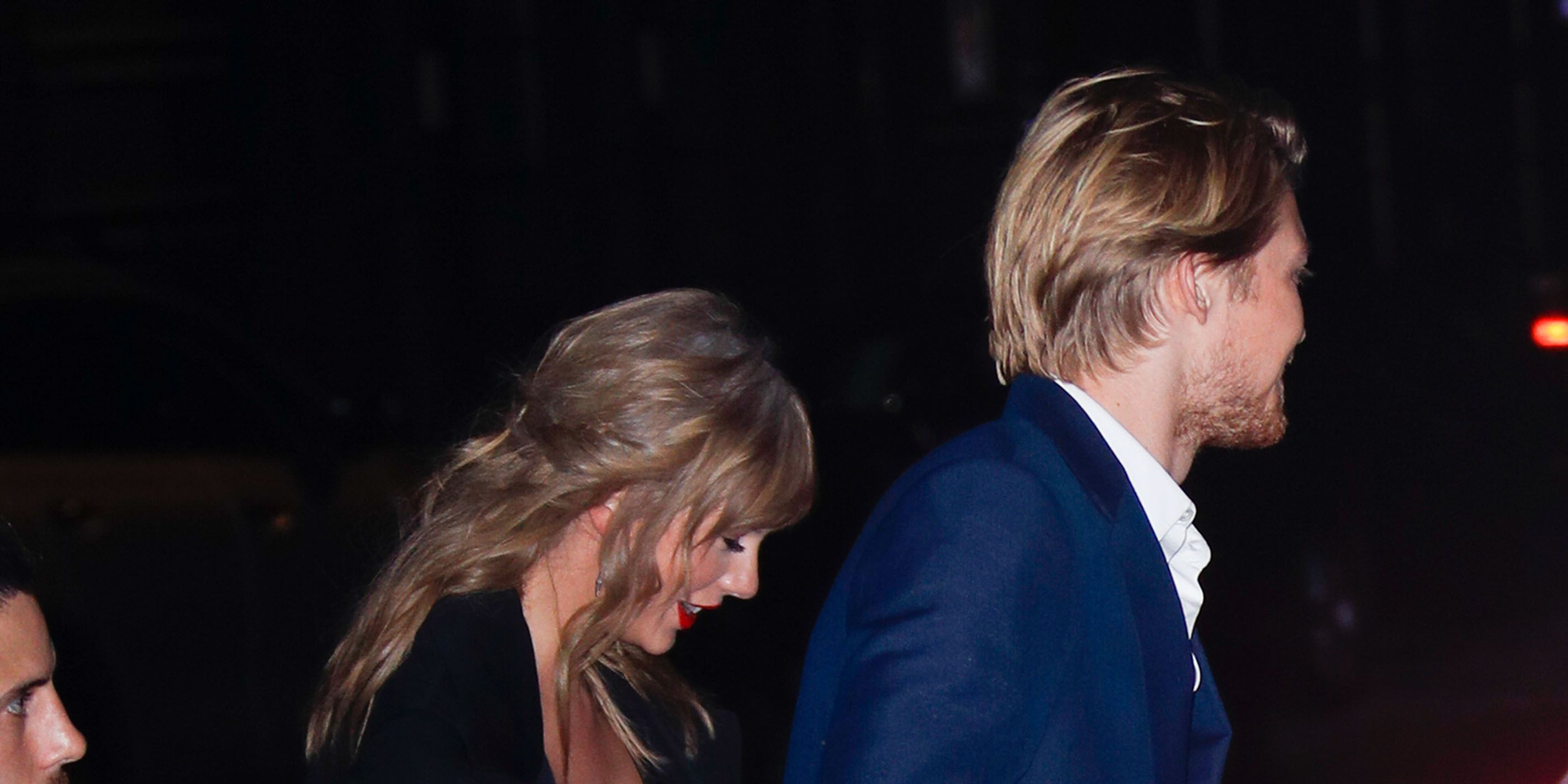 Taylor Swift and her boyfriend Joe Alwyn have been photographed holding hands on a rare public outing