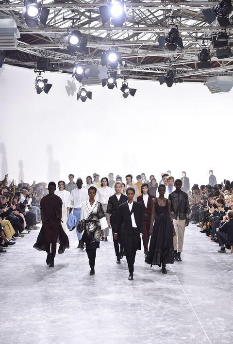 Haider Ackermann : Runway - Paris Fashion Week Womenswear Spring/Summer 2019
