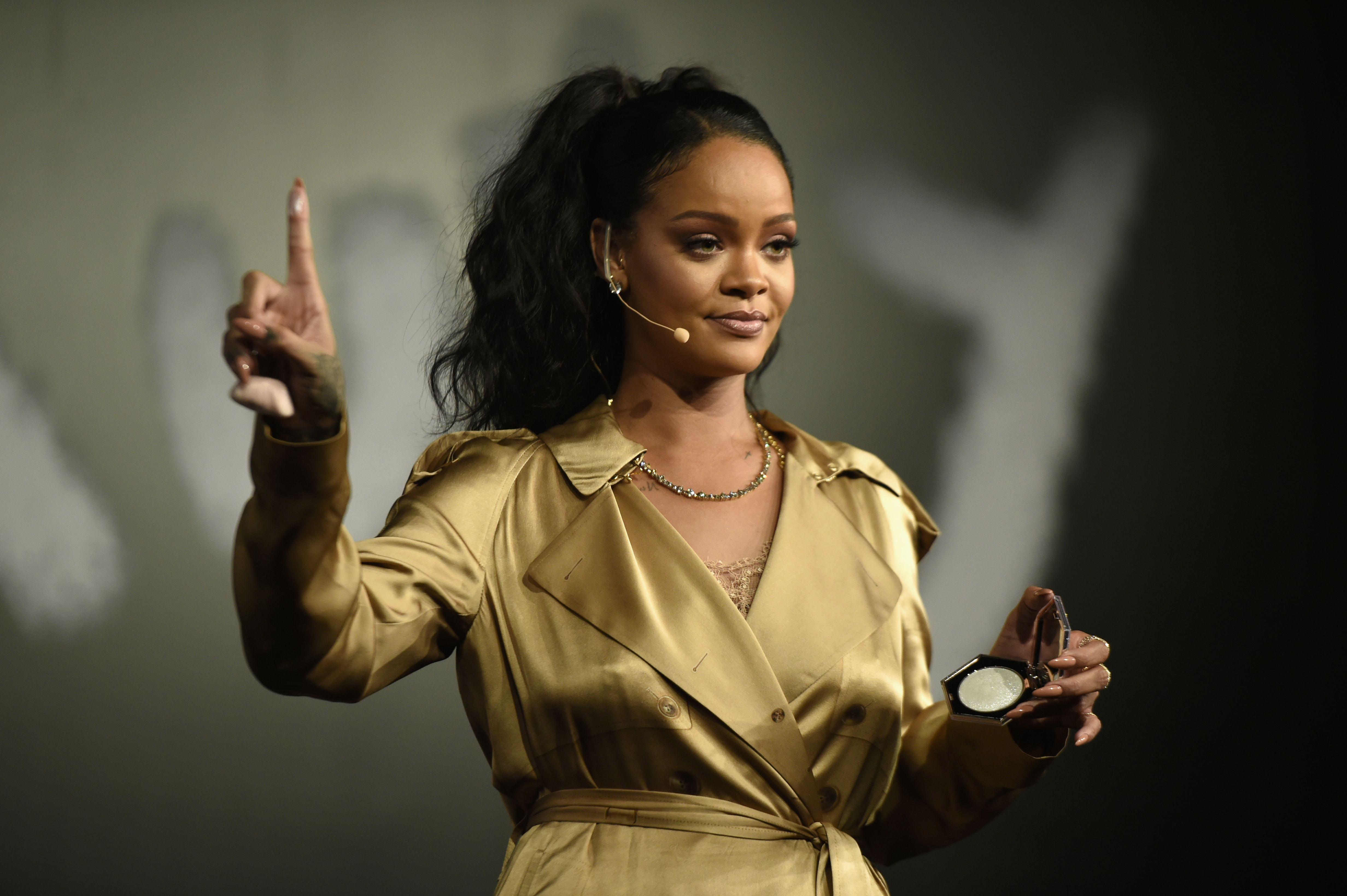 Why Rihanna decided to call her fashion brand Fenty