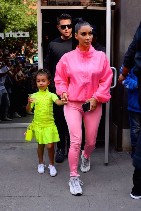 Kim Kardashian West And North West Ticked Every SS19 Trend In Their ... ab2ad2743