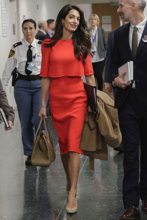 Amal Clooney In NYC