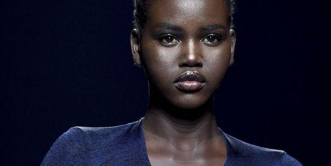 Fashion, Beauty, Model, Photography, Electric blue,