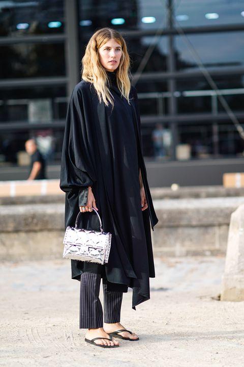 Street Style : Paris Fashion Week Womenswear Spring/Summer 2019 : Day Seven