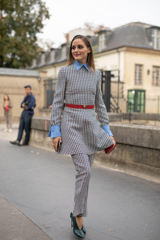 Olivia Palermo en la París Fashion Week Womenswear Spring/Summer 2019