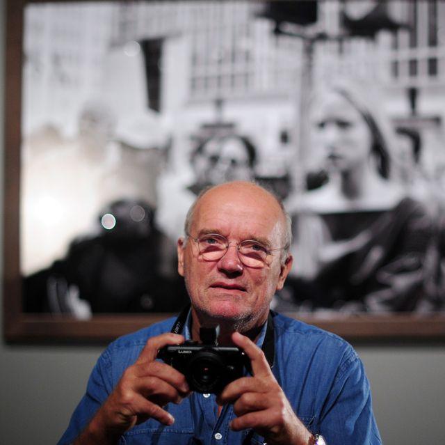 German fashion photographer Peter Lindbe