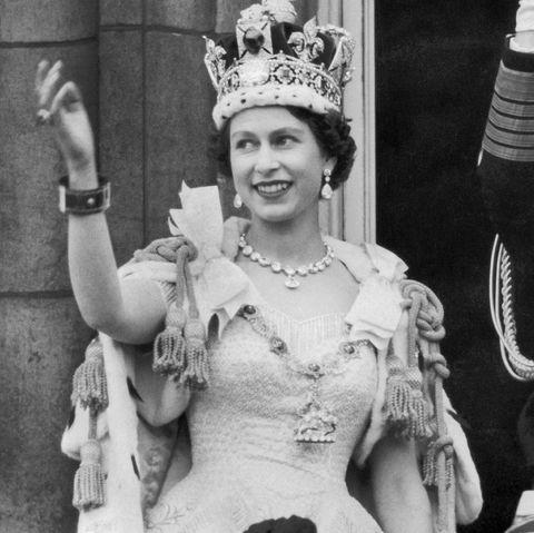 Queen Elizabeth Ii And The Duke Of Edinburgh In 1953