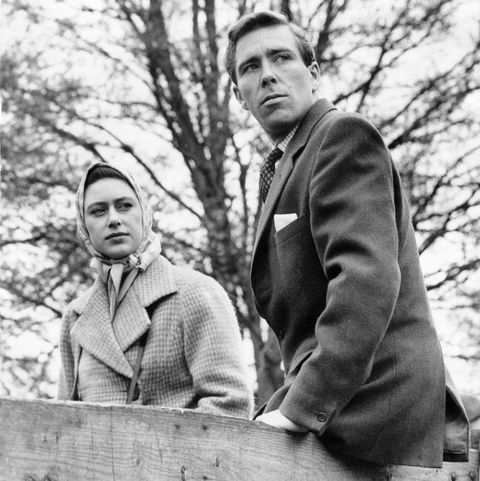 Princess Margaret And Tony Armstrong-Jones In 1960