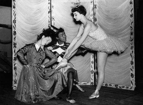 Hepburn ballerina