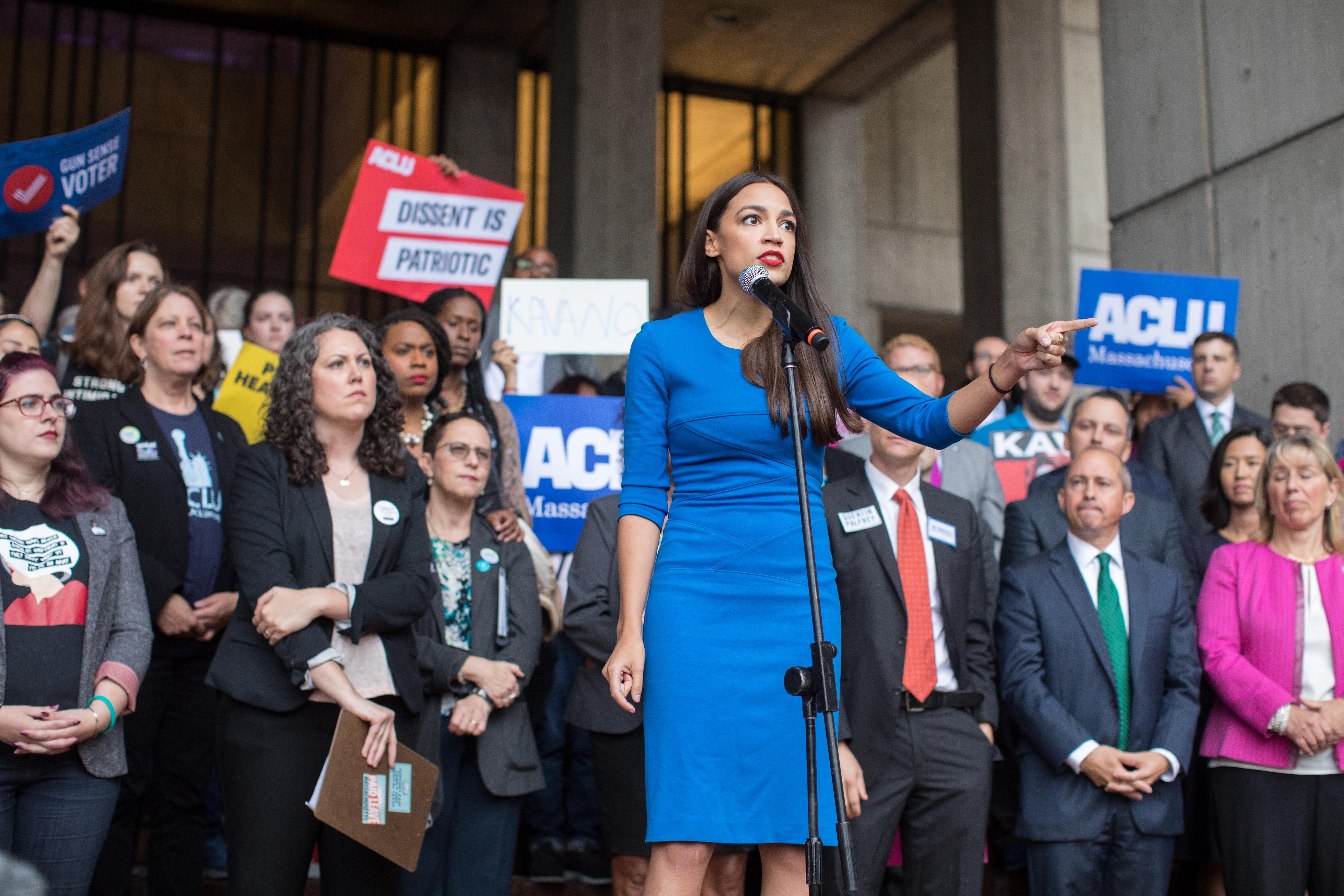 All the Times Alexandria Ocasio-Cortez Stood Up for Herself