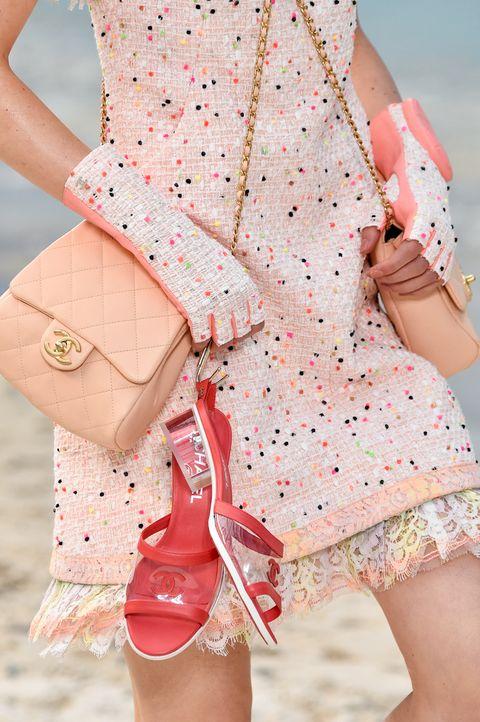 Pink, Clothing, White, Peach, Shoulder, Fashion, Outerwear, Footwear, Dress, Shorts,