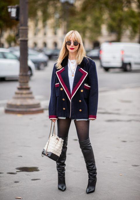 looks medias vestidos pantalones faldas