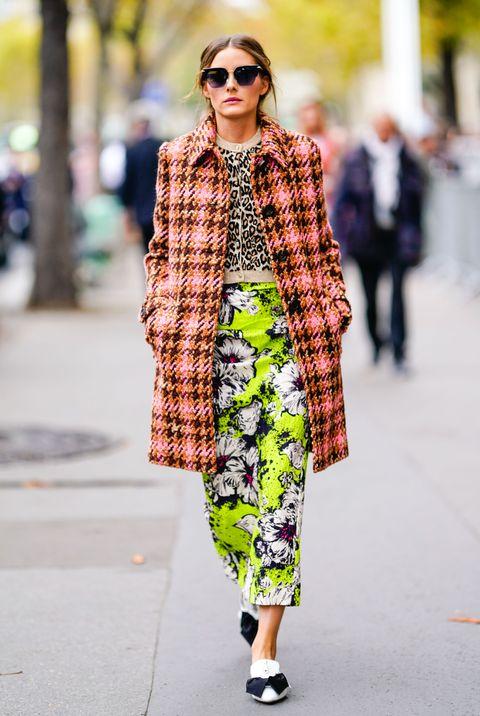 Clothing, Street fashion, Fashion, Outerwear, Snapshot, Eyewear, Sunglasses, Footwear, Fur, Coat,