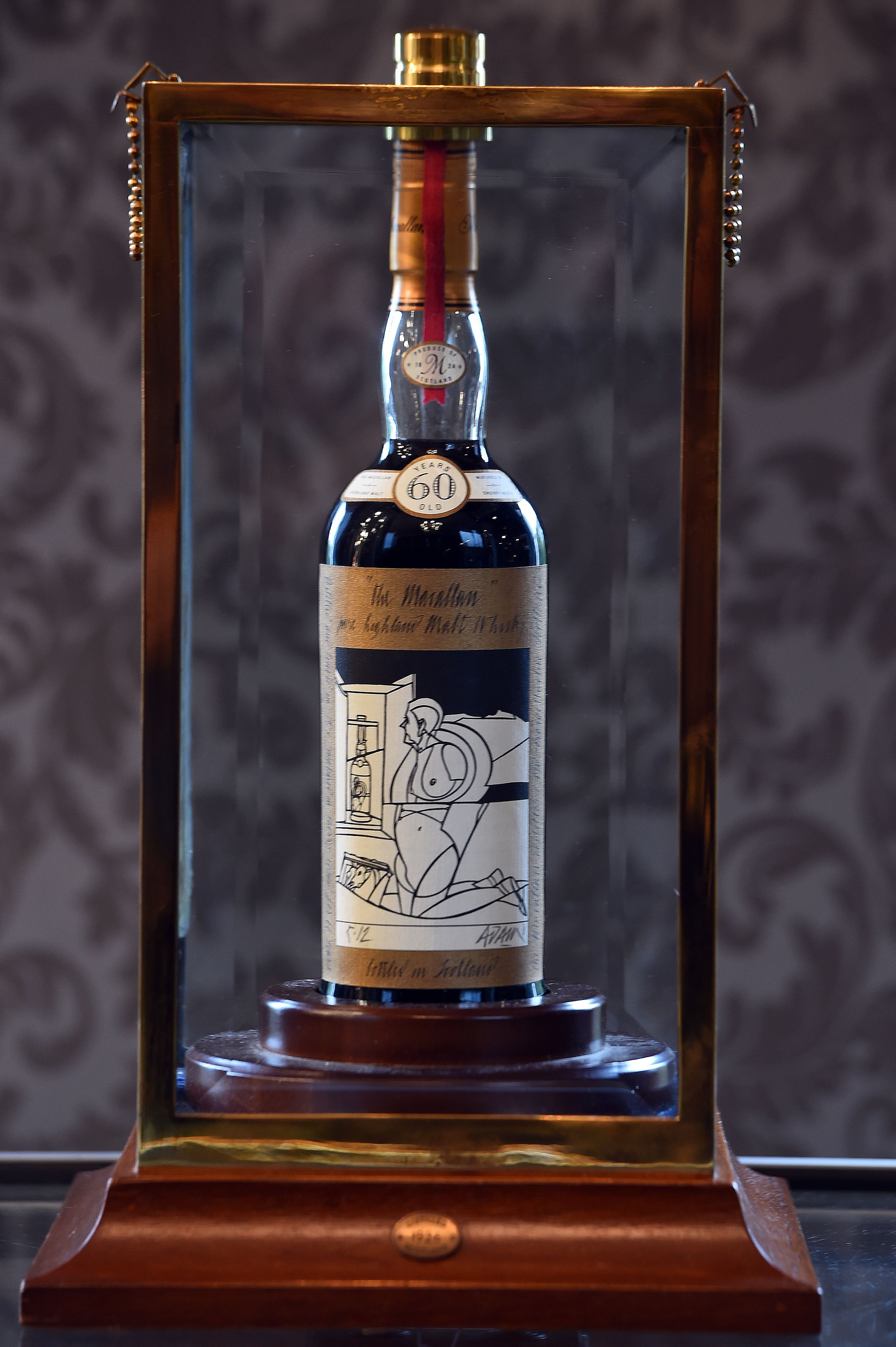 The World's Most Expensive Bottle of Whisky Just Sold for $1.1 Million