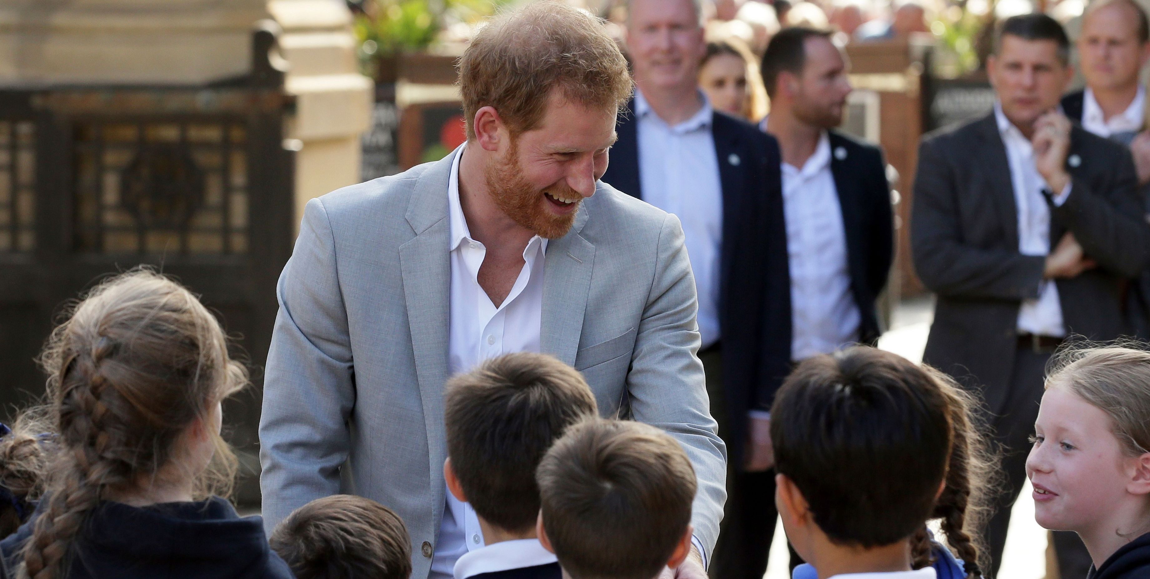 Prince Harry in Sussex