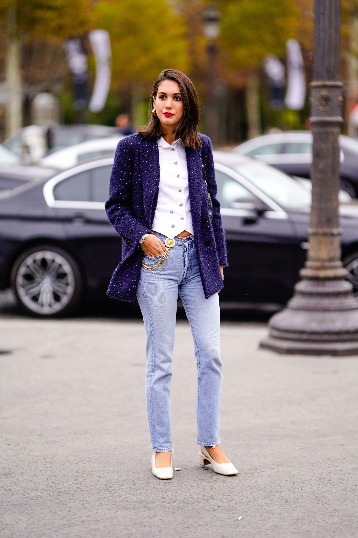 tendenza jeans 2019, come indossare i jeans 2019, moda jeans inverno 2019