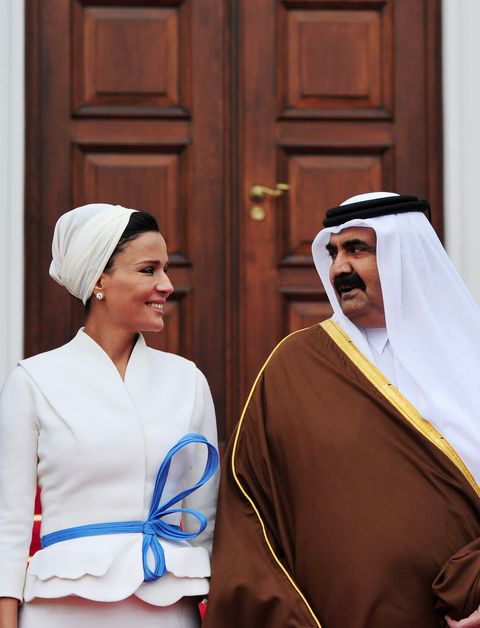 Qatar's Emir Sheikh Hamad bin Khalifa al