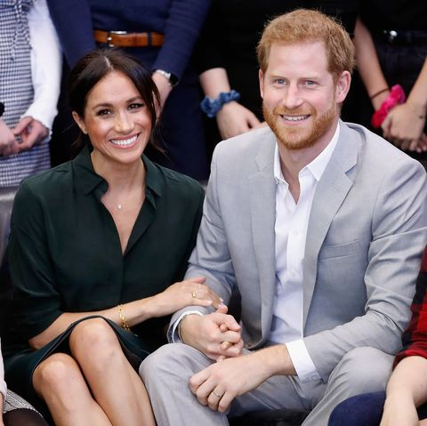 peacehaven, united kingdom   october 03  editors note retransmission with alternate crop  meghan, duchess of sussex and prince harry, duke of sussex make an official visit to the joff youth centre in peacehaven, sussex on october 3, 2018 in peacehaven, united kingdom the duke and duchess married on may 19th 2018 in windsor and were conferred the duke  duchess of sussex by the queen  photo by chris jacksongetty images