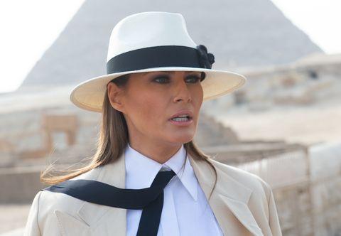 White, Clothing, Hat, Fashion accessory, Fedora, Headgear, Sun hat, Suit, Formal wear, Uniform,