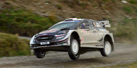 FIA World Rally Championship Great Britain - Day Three