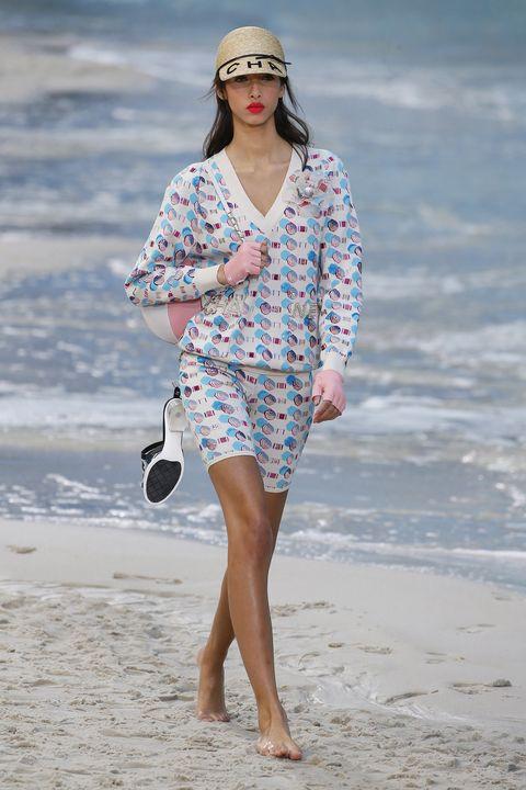 Clothing, Fashion, Fashion model, Sunglasses, Street fashion, Summer, Eyewear, Dress, Vacation, Waist,