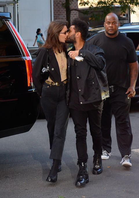 Bella Hadid and The Weeknd in New York