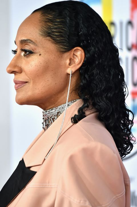 los angeles, ca   october 09  host tracee ellis ross attends the 2018 american music awards at microsoft theater on october 9, 2018 in los angeles, california  photo by kevin mazurgetty images for dcp