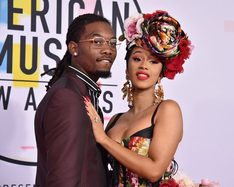 los angeles, ca   october 09  offset and cardi b attend the 2018 american music awards at microsoft theater on october 9, 2018 in los angeles, california  photo by david crottypatrick mcmullan via getty images