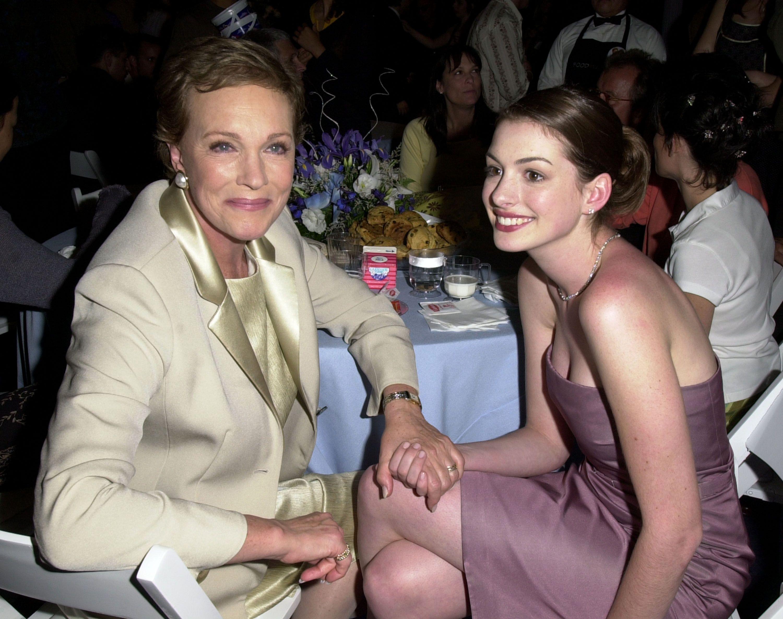 Julie Andrews Anne Hathaway