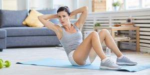 home-workouts, women's health uk