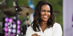 Michelle Obama 2018 White Suit