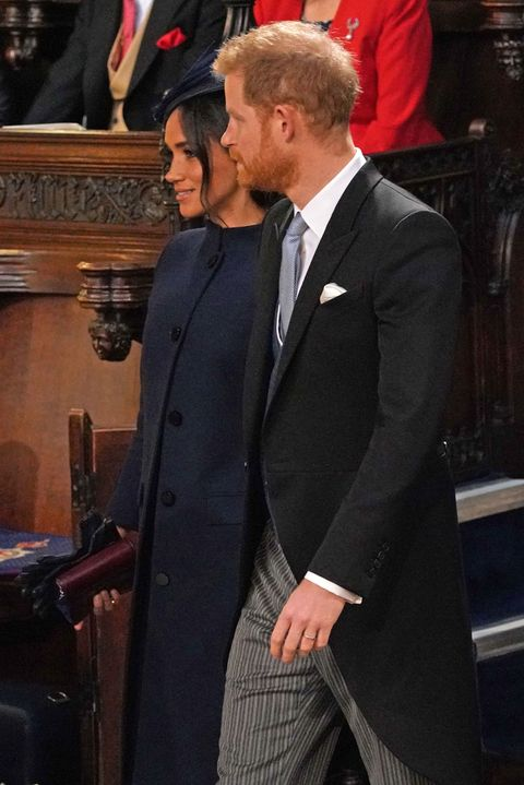 99fa0656f2a Meghan Markle Dazzles In Navy Blue Givenchy Dress At Princess ...